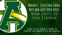 Steele Meet and Greet Open House - UPDATE