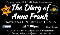MLS Theatre - The Diary of Anne Frank