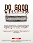 MLS Theatre Fundraiser (Chipotle)