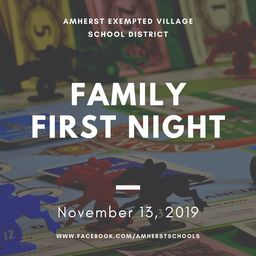 Family First Night is Tonight!