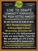 Theatre Dine-to-Donate: Brew Kettle