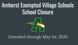 School Closure Extended - May 1st