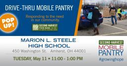 Drive-Thru Mobile Food Pantry