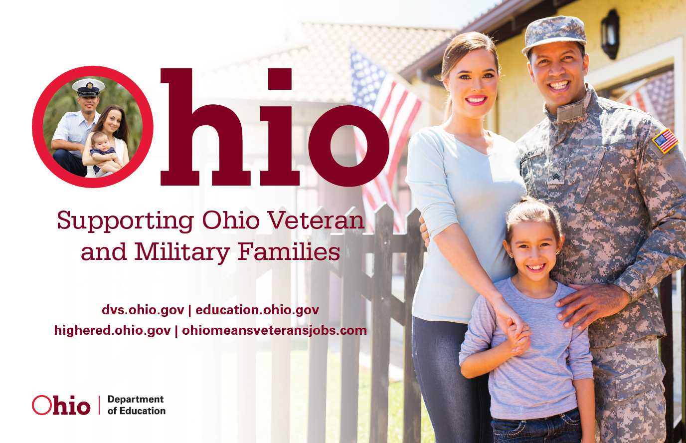Touching congratulations to veterans